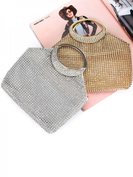 Luxurious Rhinestone Evening/Party Womens Handbags
