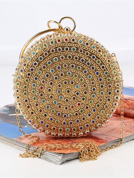 Gorgeous Rhinestone Evening/Party Colourful Womens Handbags