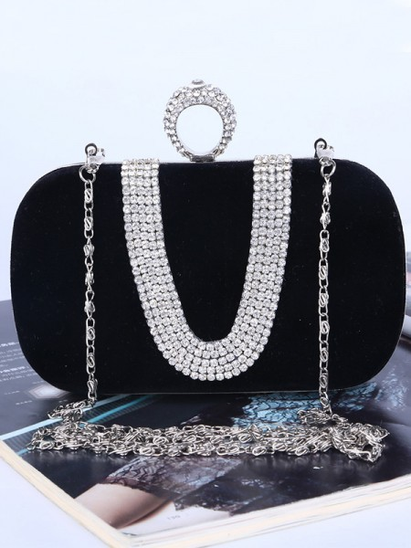 Fashion Rhinestone Womens Evening/Party Handbags
