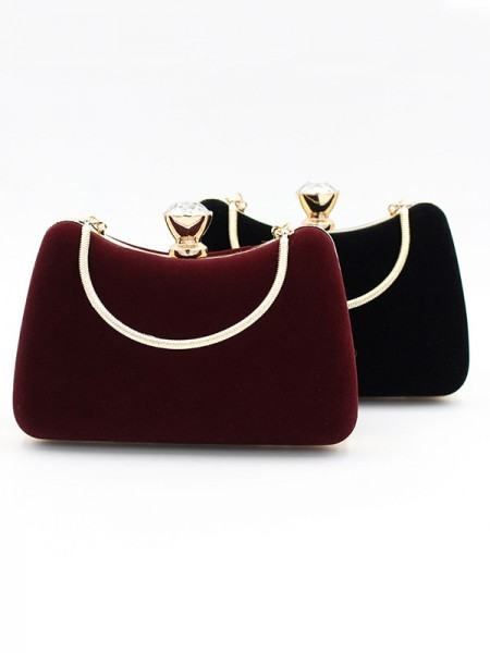 Fashion Velvet Evening Evening Party Handbags