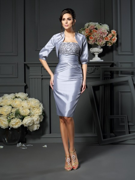 Taffeta 1/2 Sleeves Special Occasion Wrap