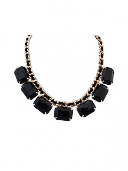Occident Simple Blocks All-match New Hot Sale Necklace